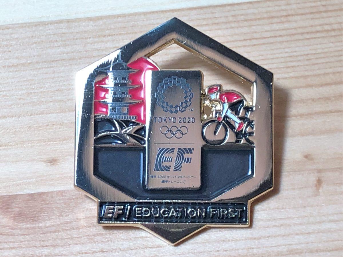 オリンピック記念ピンバッジ